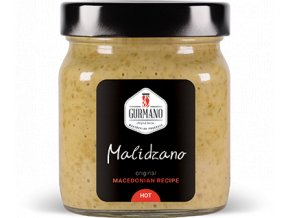 Gurmano MALIDZANO HOT zelený ajvar pálivý, 300g