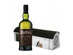 Ardbeg 10 YO, Warehouse Pack 2018, 46%, 0,7l