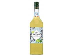 Giffard LimeCitron vert, limetový sirup, 1l