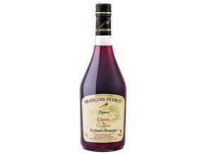 Francois Peyrot Liqueur Cassis & Cognac (Černo rybízový likér), 18%, 0,7l