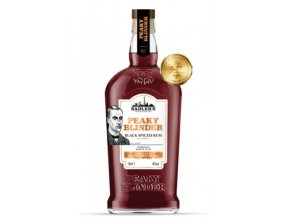 Peaky Blinder black spiced rum, 40%, 0,7l