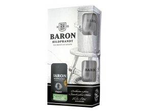 Baron Hildprandt ze zralých hrušek + 2 skleničky, 40%, 0,7l
