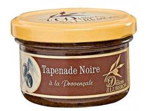 Tapenada z černých oliv dle receptury z Provance, sklo 90g