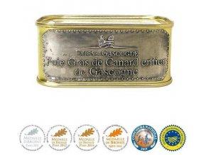 Ducs de Gascogne Kachní Foie Gras z Gascogne v celku (plech), 205g