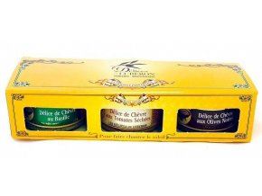 Delices du Luberon Provensálská Trilogie Premium tapenád, 3x90g