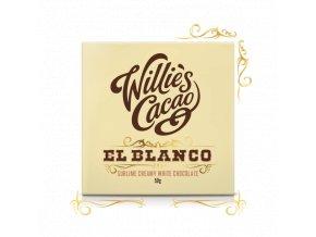 Willie's Cacao Čokoláda Willie's bílá EL BLANCO Venezuela, 50g