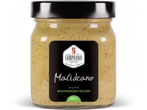 Gurmano MALIDZANO MILD zelený ajvar jemný, 300g