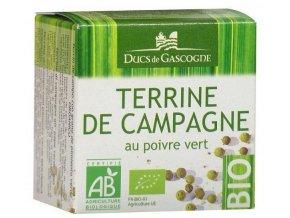 Ducs de Gascogne BIO Farmářská terina se zeleným pepřem, 65g