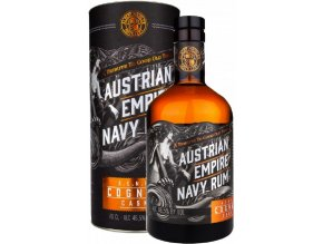 Austrian Empire Navy Cognac Cask, Gift box, 46,5%, 0,7l