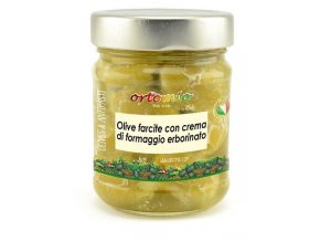 Ortomio Olivy plněné sýrem Gorgonzola, 212 ml