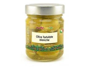 Ortomio Olivy s bílym lanýžem, 212 ml