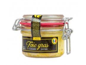 Gourmet Partners Kachní Foie Gras v celku (sklo), 130g
