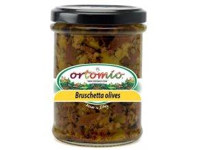 Ortomio Směs na Bruschettu z oliv, 212ml