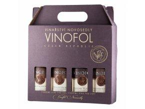 Dárkový set Vinofol, 4x0,187l