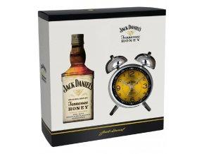 Jack Daniel´s Honey + budík, Gift box, 35%, 0,7l