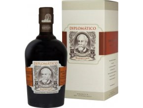 Diplomatico Mantuano rum, Paper Box