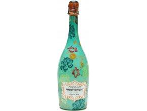 Pizzolato Spumante Pinot Grigio DOC Extra Brut Organic, 0,75l