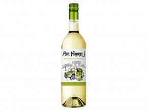 Bon Voyage Sauvignon Blanc, nealko, 0,75l