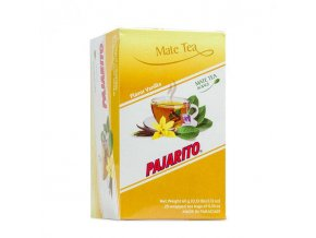 Yerba Maté Pajarito čajové sáčky 20x3g - Vanilka