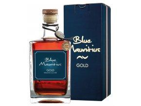 Blue Mauritius Gold Gift Box