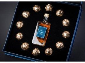 MINI Blue Mauritius Gold Rum Pralines, 40%, 0,05l