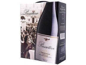 Passitivo Primitivo IGT, Bag in box, Paololeo, 3l