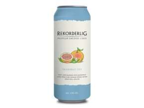 Rekorderlig Cider Grapefruit Fizz, plech, 24x 0,5l