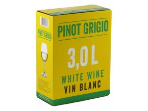 Pinot Grigio, bag in box, 3l