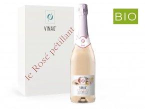 VINA´0 Le Rosé Pettilant, nealko, 0,75l