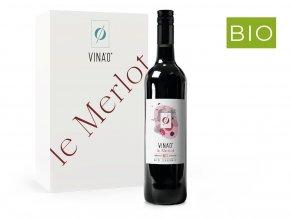 VINA´0 Le Merlot, nealko, 0,75l