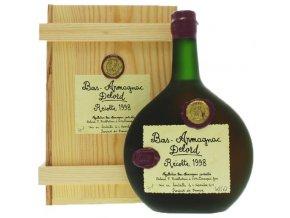 Armagnac Delord Millésimés - 1998, 40%, 0,7l