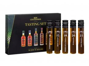 Centenario Rum Tasting Set, 5x50ml