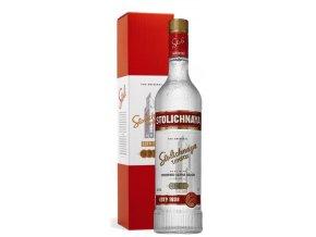 Stolichnaya vodka v dárkové krabičce, 40%, 0,7l