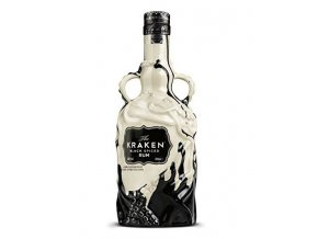 Kraken Black Spiced Rum Black & White Ceramic Limited Edition 2017, 40%, 0,7l