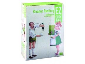 Rivaner Riesling Feinherb, bag in box, 3l