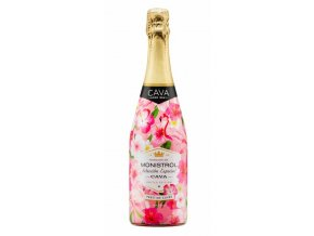 Marques de Monistrol CAVA Rosé Brut Flower edition, 0,75l