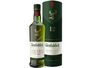 Glenfiddich 12 lahev krabice