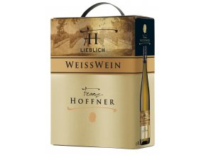 Franz Hoffner Weisswein, polosladké, Bag in box, 3l