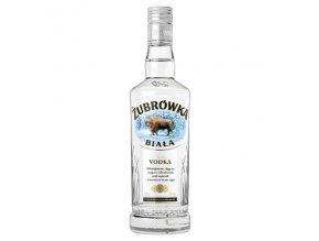 Zubrowka Biala vodka, 37,5%, 0,5l