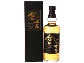 Kurayoshi Pure Malt 18 Years Old Japanese Whisky, 43%, 0,7l