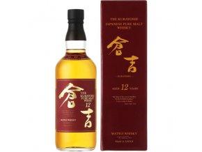 Kurayoshi Pure Malt 12 Years Old Japanese Whisky, 43%, 0,7l1