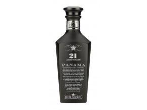 Rum Nation 21 YO Panama Black rum, Gift Box, 43%, 0,7l