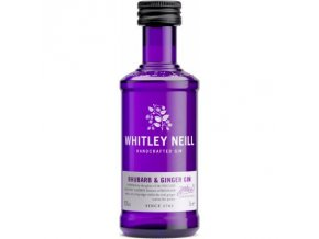 Whitley Neill Rhubarb & Ginger Gin, 43%, 0,05l