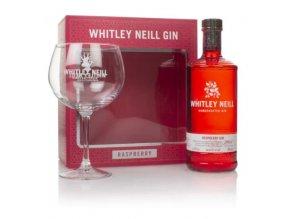 whitley neill raspberry gin gift box 43 07l