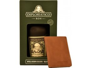 Diplomatico Reserva Exclusiva 12y 0,7l 40% GB + peněženka