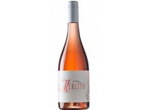 Merlíto Merlot rosé, 2020, polosladké, Volařík, 0,75l