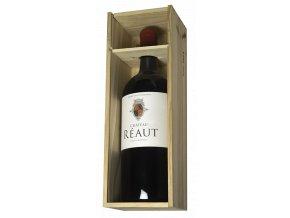 Chateau Réaut 2016 DOUBLEMAGNUM 3 L v dřevěném boxu