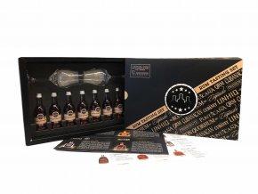 Power of the caribbean degusační set rumů pro dva3