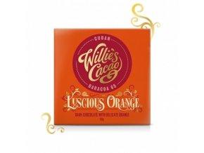 Čokoláda Willie's - Cuban hořká s pomerančem 65%, 50g