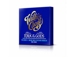 Čokoláda Willie's mléčná MILK OF THE GODS, Rio Caribe 44%, 50g